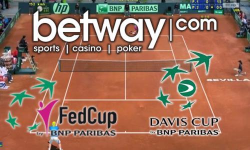 Betway został sponsorem Pucharu Davisa oraz Fed Cup by BNP Paribas