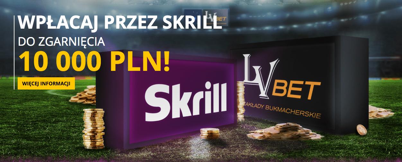 Nowa promocja LVBet i Skrill