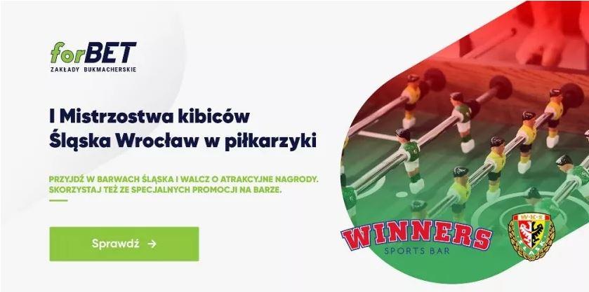 Forbet organizuje Mistrzostwa w piłkarzyki barowe