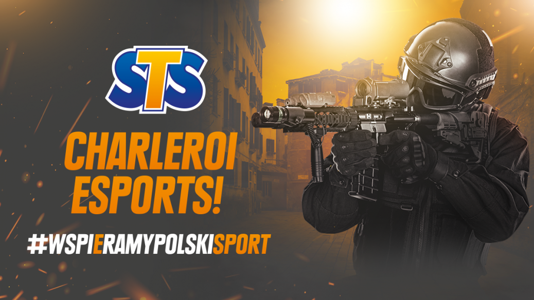 STS sponsorem transmisji Charleroi Esports