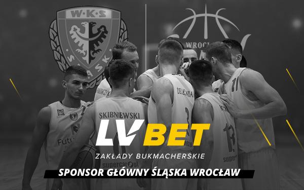 LV BET Sponsorem Głównym koszykarskiego Śląska Wrocław