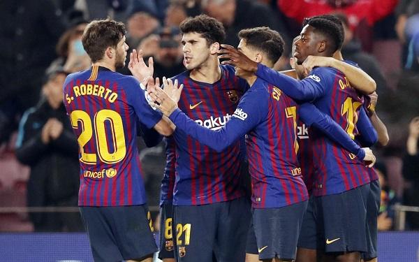 Barcelona – Leganes, 30/01, godz: 19:00, stadion: Camp Nou