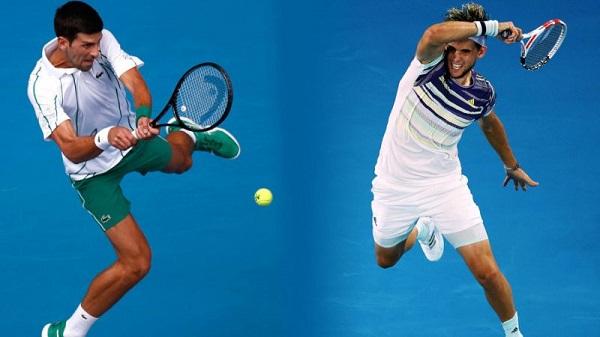 Djokovic – Thiem, 02/02, godz: 09:30, kort: Melbourne Park