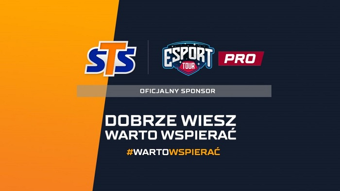 STS oficjalnym sponsorem Esport Tour PRO!