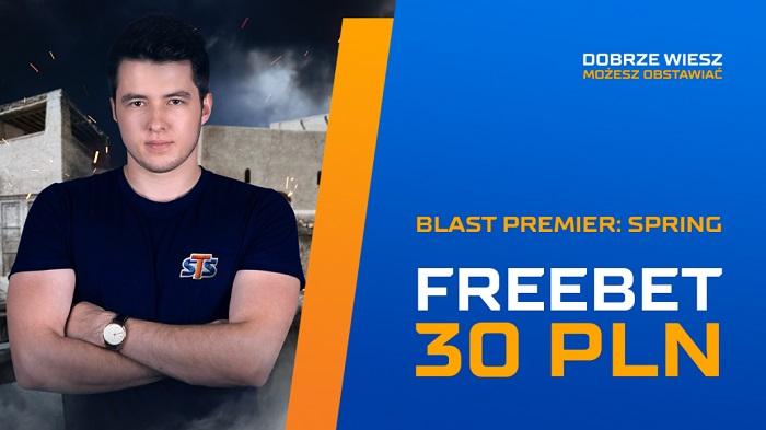 30 PLN na Blast Premier!