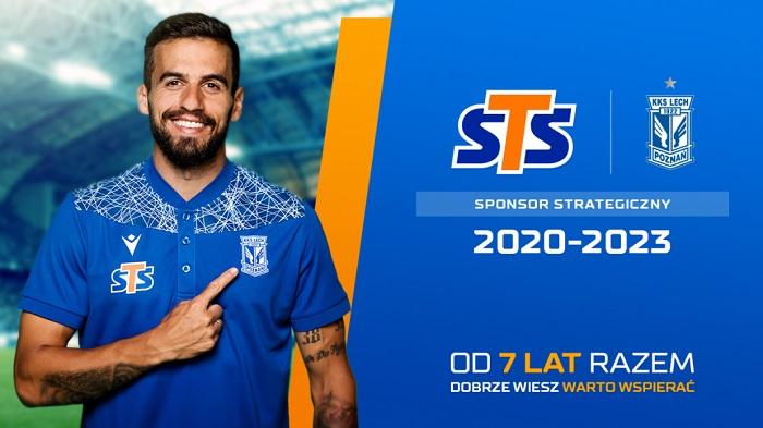 STS sponsorem strategicznym Lecha Poznań!