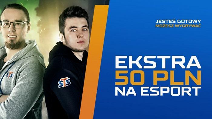 Ekstra 50 PLN na ESPORT!