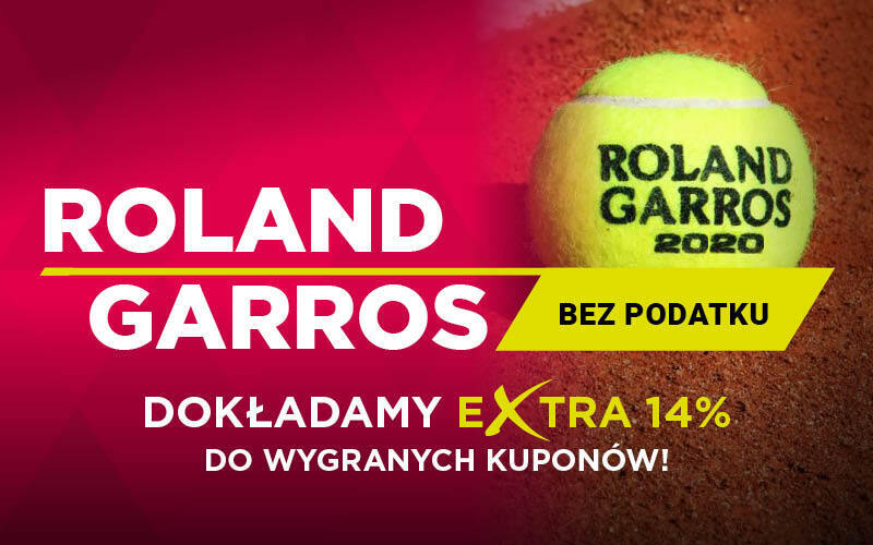Roland Garros bez podatku w BetX