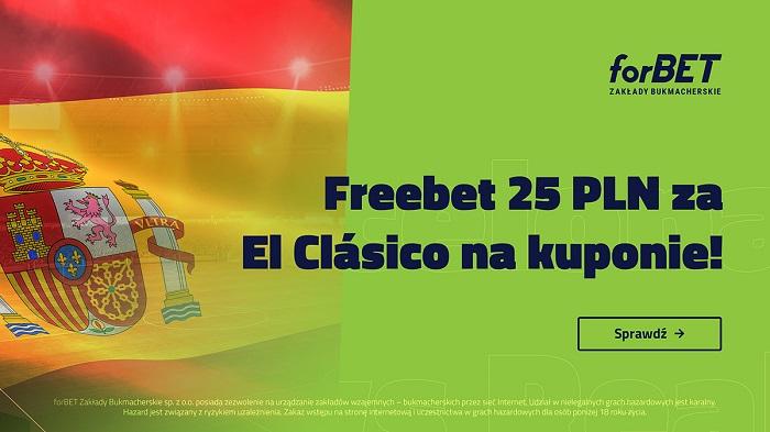 El Clasico – freebet na Ligę Mistrzów