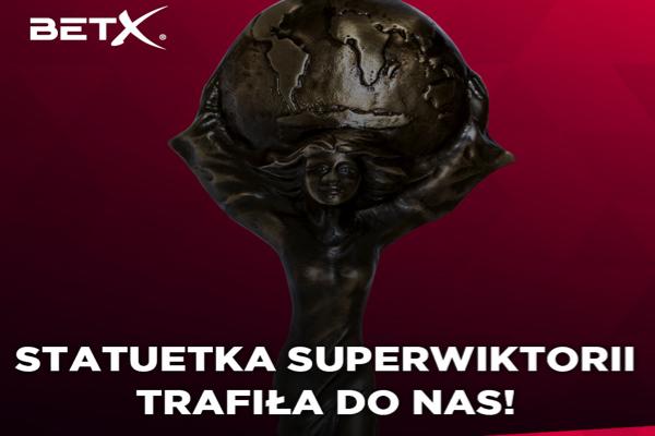 BetX Polska nagrodzony prestiżową nagrodą SUPER WIKTORII!