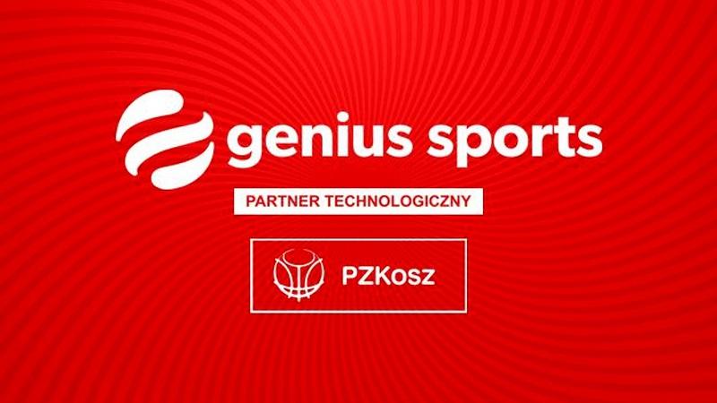 PZKosz oraz PLK przedłużają współpracę z Genius Sports Group