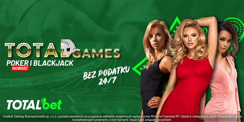 Poker uzupełnił ofertę gier karcianych w TOTALbet
