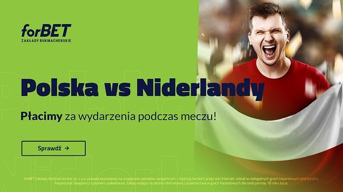 Promocja Polska – Holandia w forBET