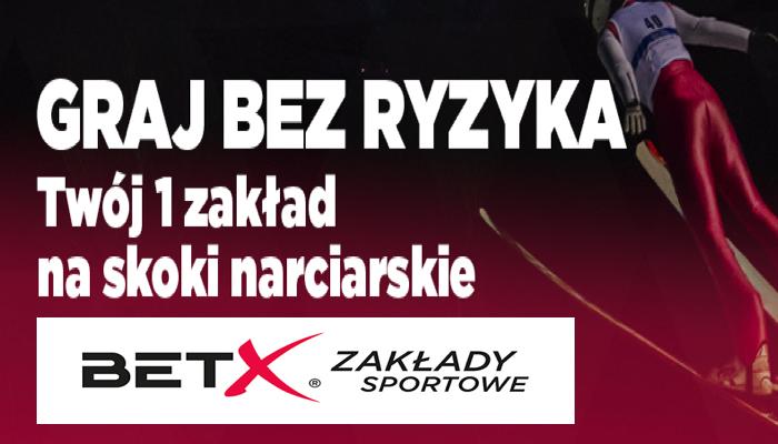 Zakład bez ryzyka na skoki narciarskie w BetX