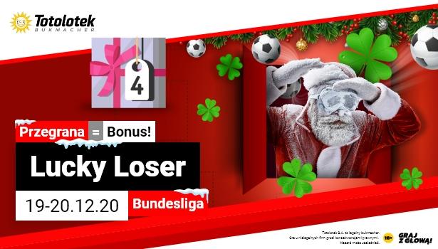 Niemiecka Bundesliga w promocji Lucky Loser w Totolotku