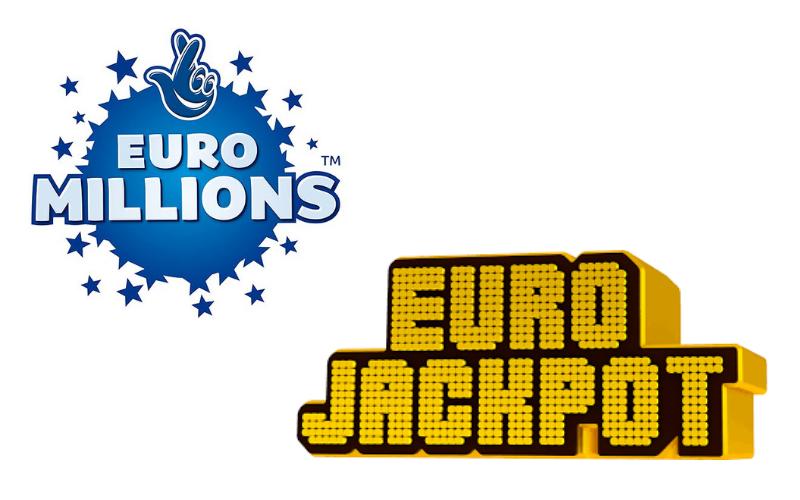 Porównanie Eurojackpota i EuroMillions Lottery Ticketów