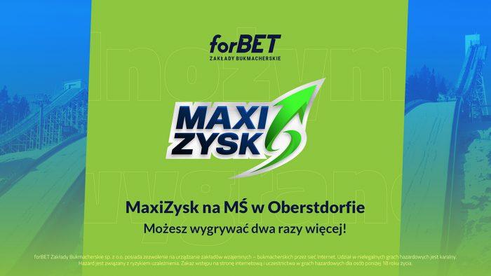MaxiZysk na MŚ w Oberstdorfie