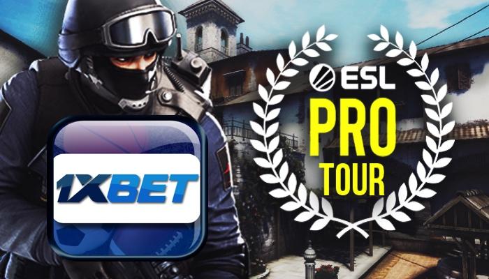 1xBet globalnym partnerem bukmacherskim ESL Pro Tour CS: GO i ESL One Dota 2