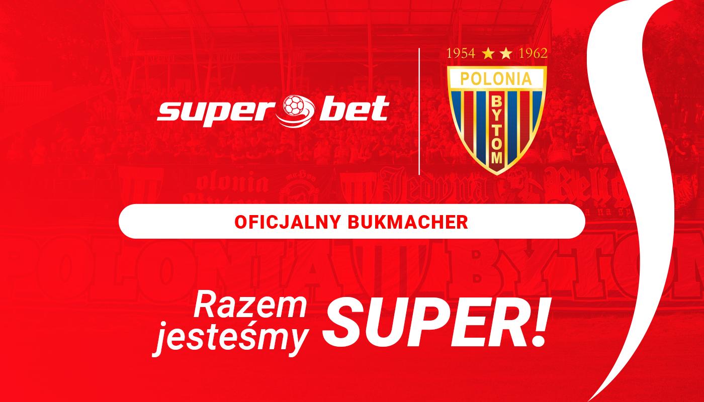 Sponsor śląskiego sportu – Superbet  wesprze także Polonię Bytom!