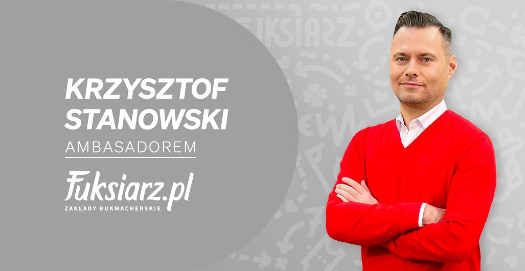 Krzysztof Stanowski ambasadorem nowego bukmachera Fuksiarz.pl
