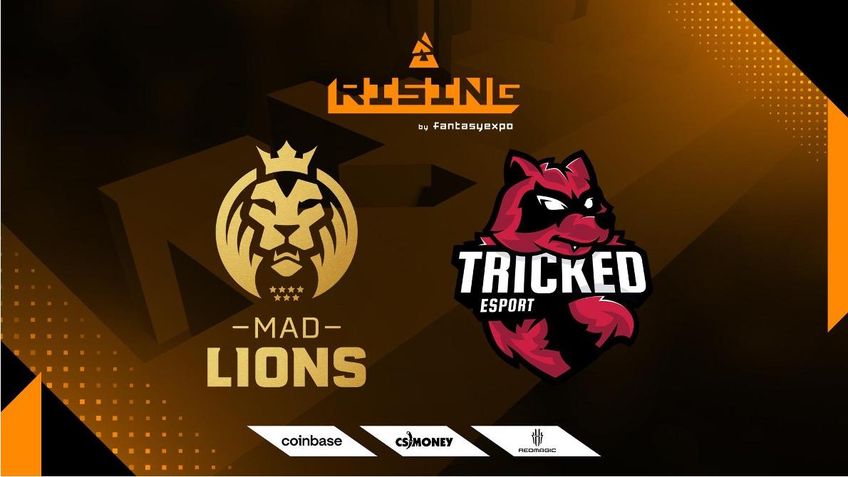 Zmiany na liście uczestników BLAST Rising; MAD Lions i Tricked wchodzą do gry
