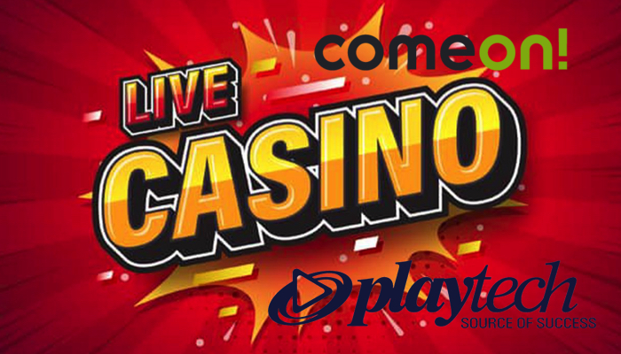 Oprogramowanie Playtech Casino oraz Live Casino dostępne w ComeOn