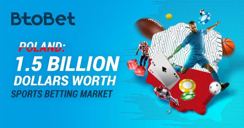 Polska, rynek zakładów sportowych warty półtora miliarda dolarów