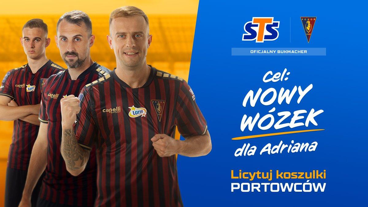 Pogoń Szczecin i Fundacja STS ponownie licytują koszulki